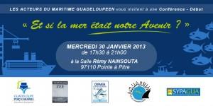 Conférence-débat sur la mer, à l'initiative du CIPPA