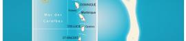 Carte de l'île d'Aves