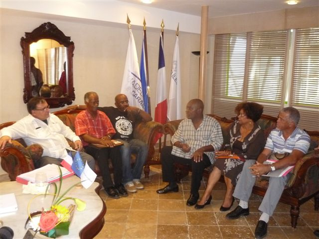 l'Ambassadeur Hector Michel Mujica-Luc Reinette-Danick Zandronis-Flémin-Mirre -Quidal, Alain Plaisir